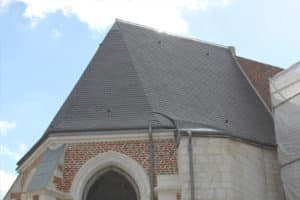 ardoise toit monument