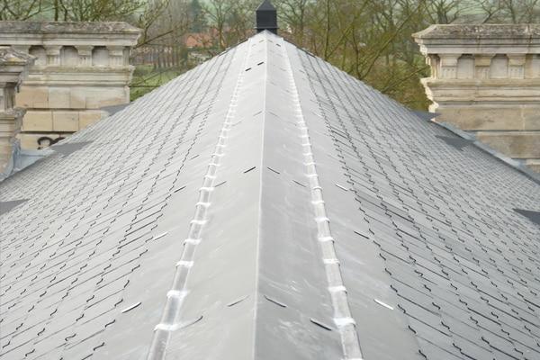 rénovation toit en zinc